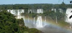 Janice and Charles - Iguazu Falls, Brasil