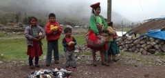 Children at Huacahuasi