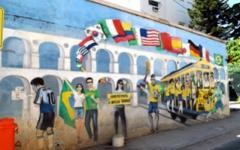 Mural in Santa Teresa, Rio de Janeiro